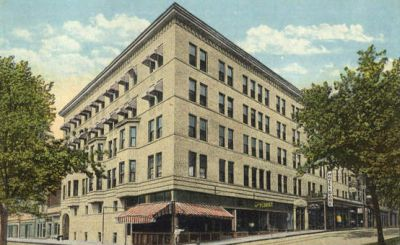 Hotel Gore Ilration Circa 1930s